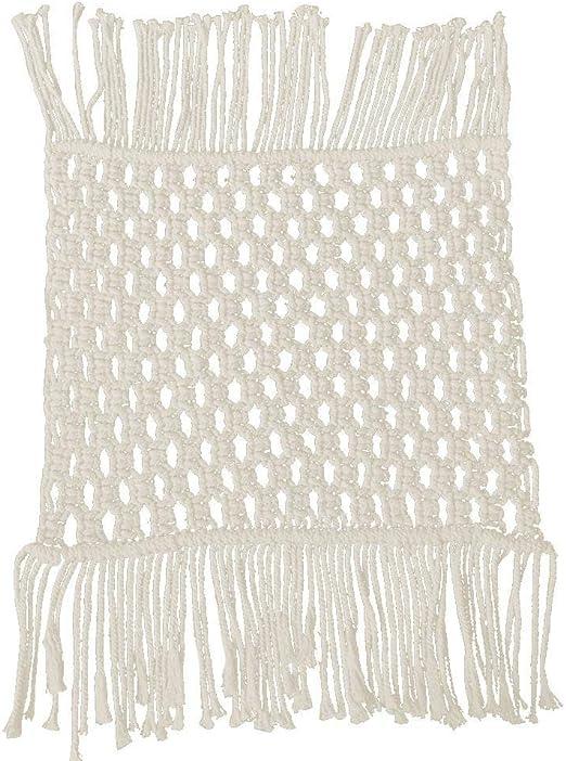 Baiansy - Alfombra de algodón para fotografía Bohemia Tejida a ...