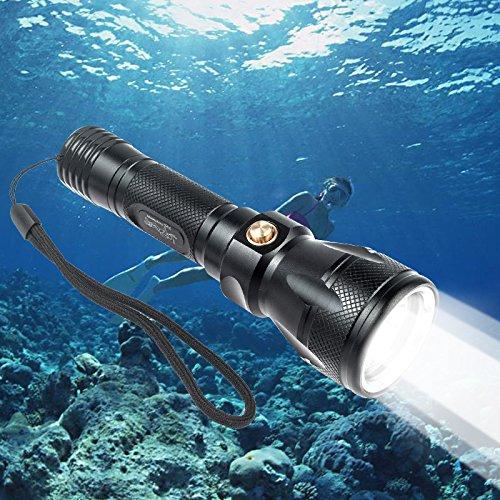 おおすめ水中ライト7選 BlueFire 水中懐中電灯 Cree XM-L2