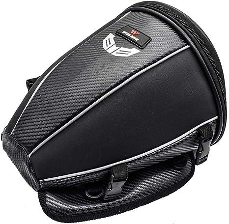 Sacoche arri/ère pour moto Noir 30 x 28 x 21 cm