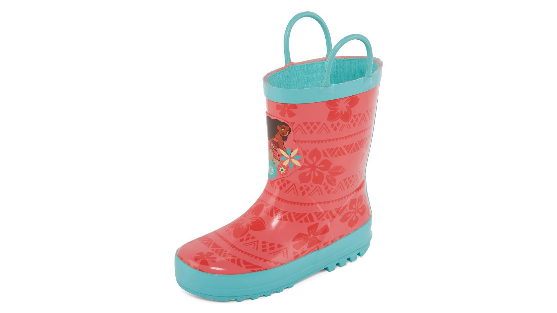 Disney Moana Little Girls or Toddler Rain Boots (1 (Little Kid)) by Disney (Image #1)