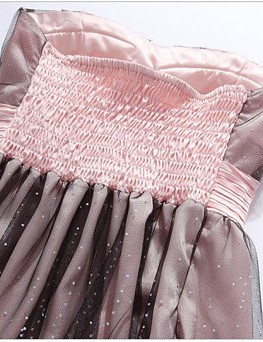 PU&PU Robe Aux femmes Grandes Tailles Grandes Tailles / Soirée Mi-long Autres / Satin , yellow-xl , yellow-xl