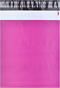 KKBESTPACK 100 PCS 10x13 Shipping Bags, Pink Poly Mailers, Waterproof Bag Self Sealing Shipping Envelopes Plastic Bags (GT83Y)