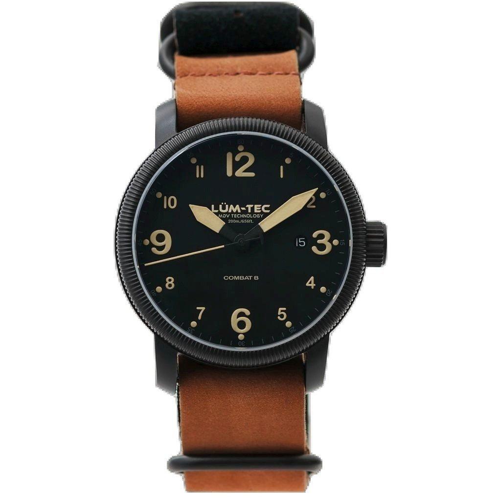 Lum-Tec B35 Automatic Watch | Leather Watch Band