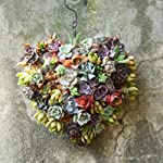 Serenable-4Pcs-Metal-Flower-Wreath-Frames-Wreath-Frame-for-New-Year-Valentines-Party-Decoration-Love-Heart-Shape-21cm