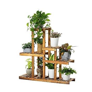 JUN Etagère à Fleurs Etagère De Jardin Pour Plante Multi Couche Jardin  Étagère Étagère De
