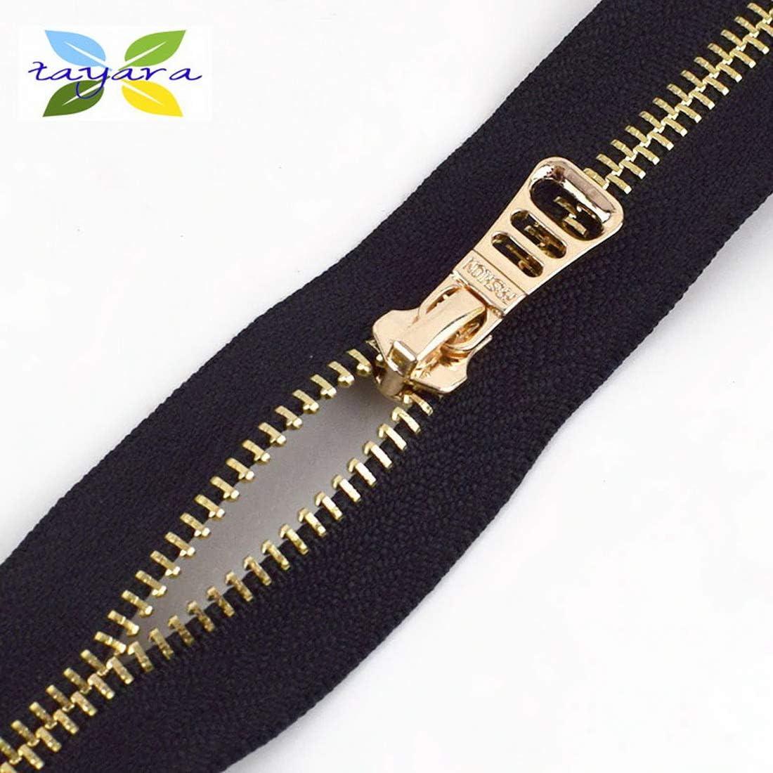 5 Pcs #3 #5 #8 #10 Fix Zipper Slider Repair Kit Fastening Sewing Tailor Clothing