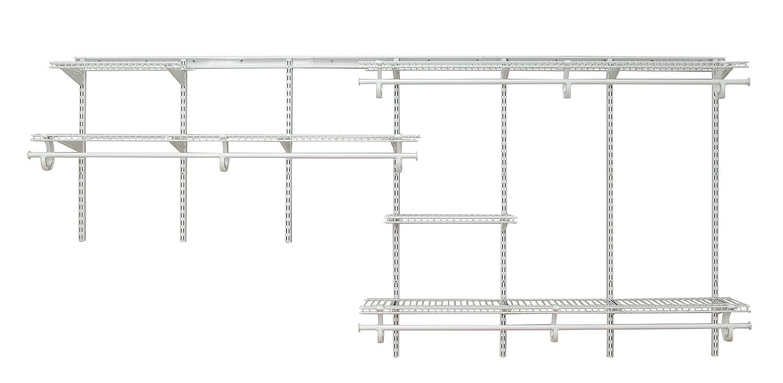 Amazon.com: ClosetMaid 2091 ShelfTrack 7ft. to 10ft. Adjustable ...