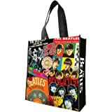 Vandor 64273 The Beatles Large Recycled Shopper Tote, Multicolor