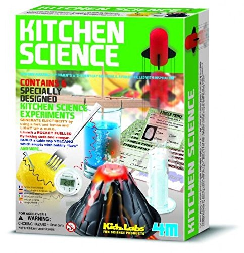 4M-Kitchen-Science-Kit-Educational-Toy-6-Experiments-Chemistry-Lab-New