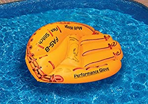 Swimline Baseball Glove Float Inflatable Raft