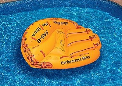 Swimline Baseball Glove Float Inflatable Raft