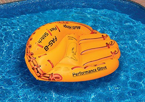 - Swimline Baseball Glove Float Inflatable Raft