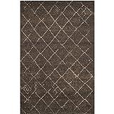 Safavieh Tunisia Collection TUN1511-KKH Dark Brown Area Rug, 3 feet by 5 feet (3′ x 5′) Review