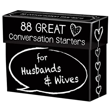 Image result for 88 Great Conversation Starters for Husbands and Wives