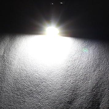 10xT5-3030-1-W-JM Boodled 10x Super Bright 3030 SMD T5 Canbus Error Free White Instrument Speedo Gauge Cluster 37 73 74 79 17 57 LED Lights bulb