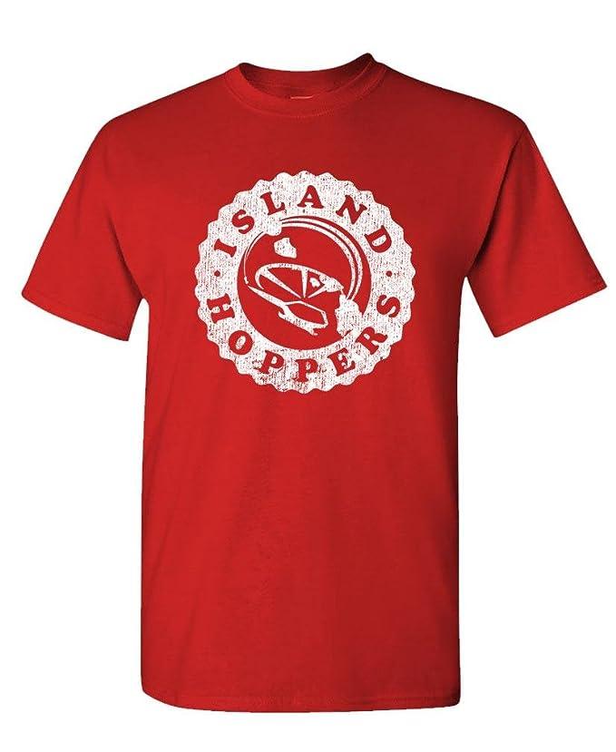 262fe4cee Island Hoppers - Magnum 80's Retro tv Show - Mens Cotton T-Shirt |  Amazon.com