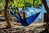 SHINE HAI Double Camping Hammock, Portable
