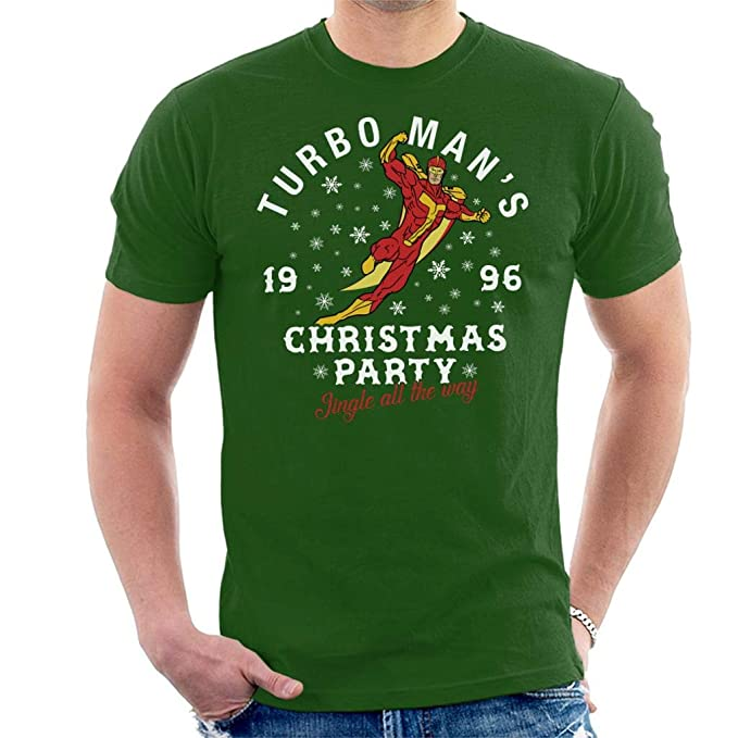 Coto7 Jingle All The Way Turbomans Christmas Party Mens T-Shirt: Amazon.es: Ropa y accesorios