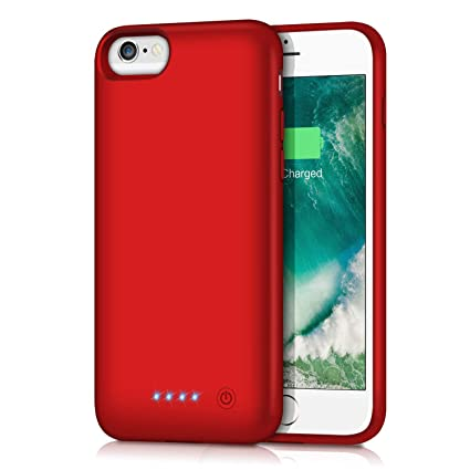 Amazon.com: Funda de batería para iPhone 6/6s/7/8 ...