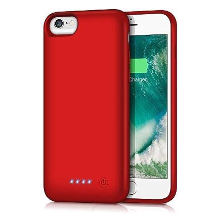Amazon.com: Funda de batería para iPhone 6/6s/7/8 ...