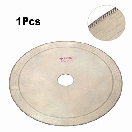 7inch 180mm Ultra Thin Diamond Lapidary Saw Trim Blade Cutting Disc for  Gem, Crystal, Jade, Glass, Cutting and Processing 25mm Bore