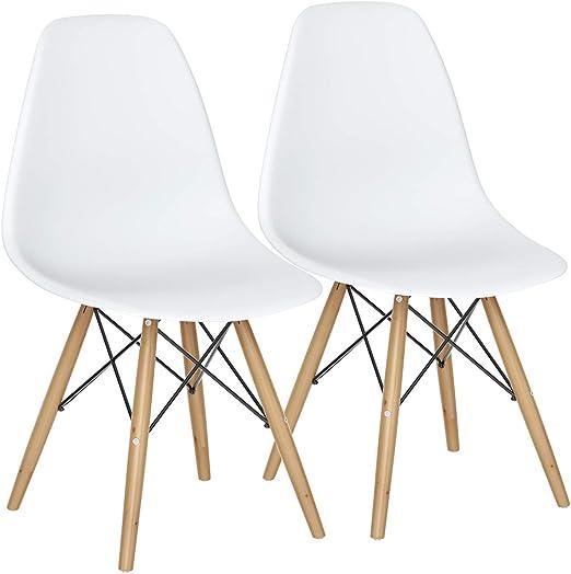 Amazon.com: Silla Giantex DSW, premontada, estilo mediados ...