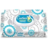 Cuties Premium Baby Wipes, Unscented Sensitive, Case/864 (12/72s)