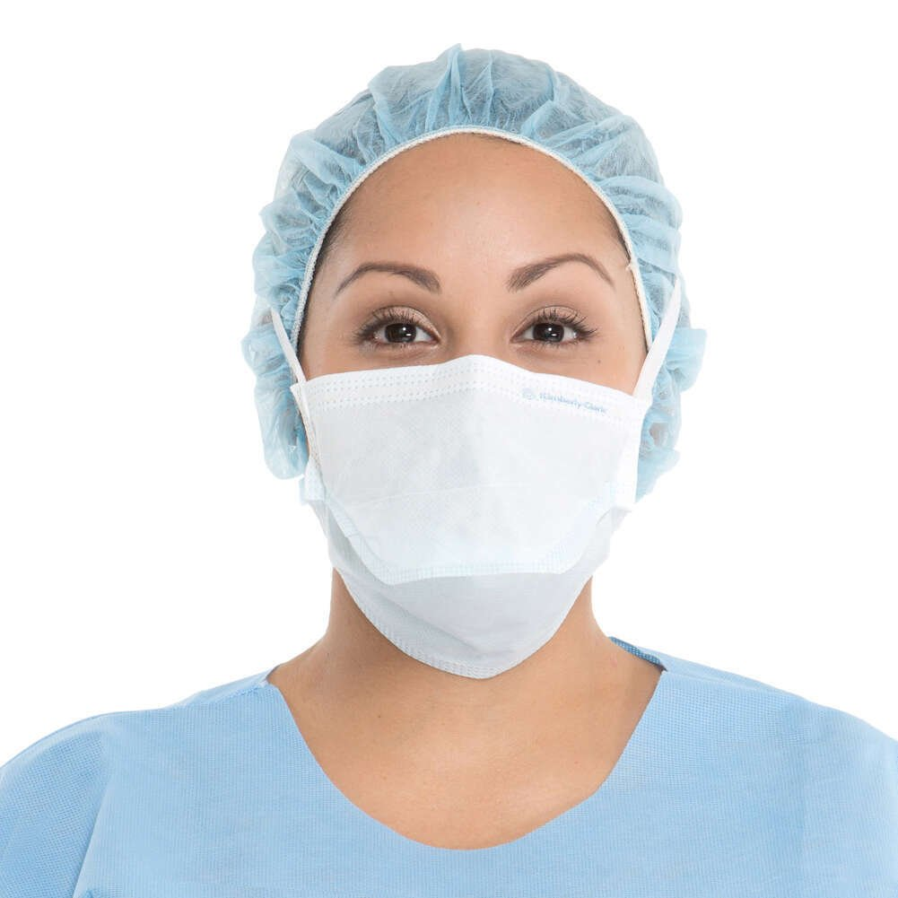 HALYARD Surgical Masks, Protective, Blue 48220 (Box of 50)