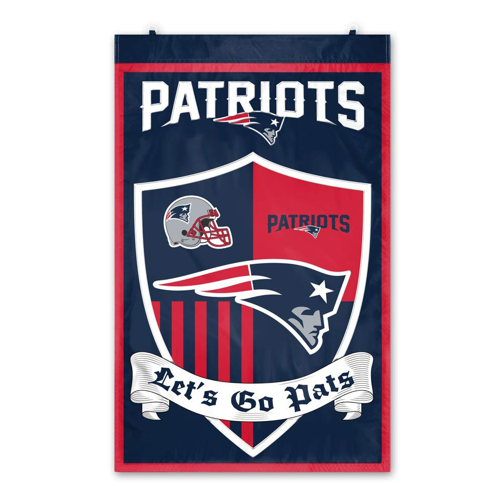 New England Patriots Shield Banner by Party Animal