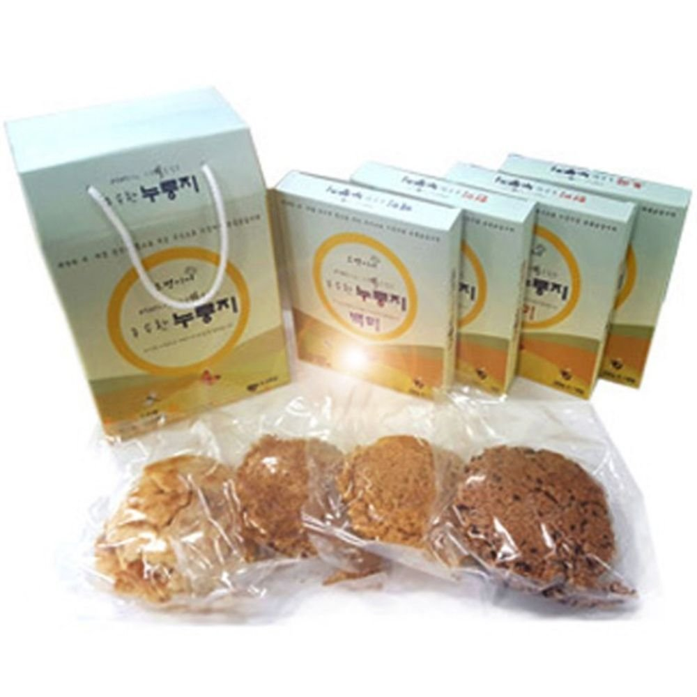 Powder made of mixed grains Scorched rice set (200 grams of rice 200 grams of rice 200 grams of brown rice 200 grams of rice) by Kinseonae