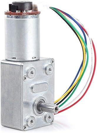 con Encoder Stark Incluso Bloqueo 10//20//30//40//100rpm 1.00V DC 12/V hochd rehm oment turbina schneckengetriebemotor