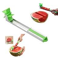 MerryXD Watermelon Windmill Cutter Stainless Steel Watermelon Slicer Cutter Knife Corer Fruit Vegetable Tools Kitchen Gadgets