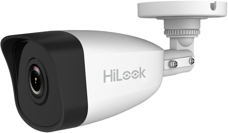 Cámara de seguridad al aire libre Hikvision, cámara CCTV de 2.0MP HD, cámaras IP67 a prueba de agua con monitorización móvil de soporte de visión nocturna, ...