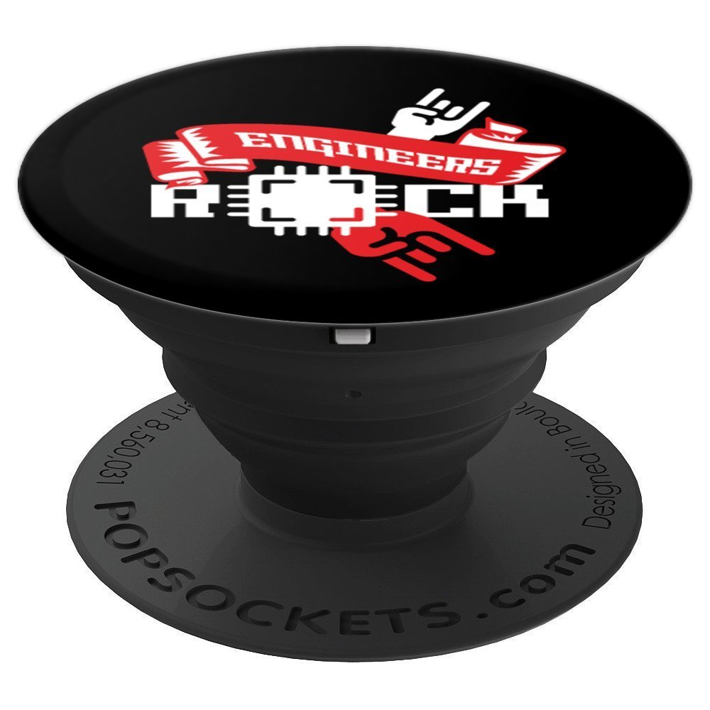 Engineers Rocks Fingers Motherboard Computer Gift - PopSockets Grip and Stand for Phones and Tablets