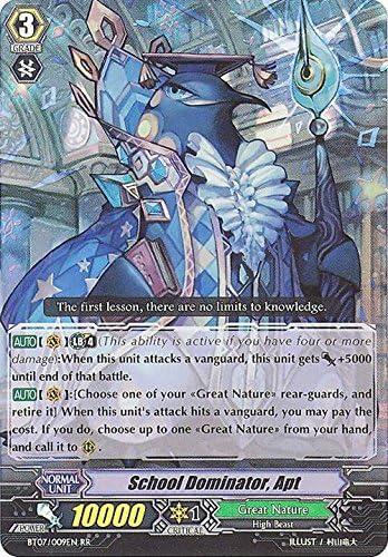 Cardfight!! Vanguard TCG - School Dominator, Apt (BT07/009EN) - Rampage of the Beast King by Cardfight!! Vanguard TCG: Amazon.es: Juguetes y juegos