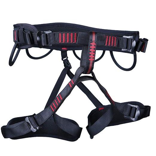 WYX Arnés para Escalada, Cinturones de Seguridad Ajustables al ...