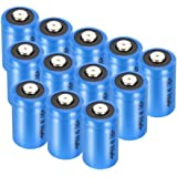 Bingogous CR2 3V 800mAh Lithium Battery with PTC Protection Leak Resistant Non-Rechargeable CR2 Batteries for Golf Rangefinder, Laser Boresighter, Laser Pointer, Funifilm Instax Mini55 (12-Pack)