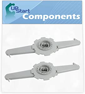 2-Pack 5304506516 Dishwasher Upper Spray Arm Replacement for Kenmore/Sears 587.14029200A Dishwasher - Compatible with 5304506516 Upper Wash Arm Spinner