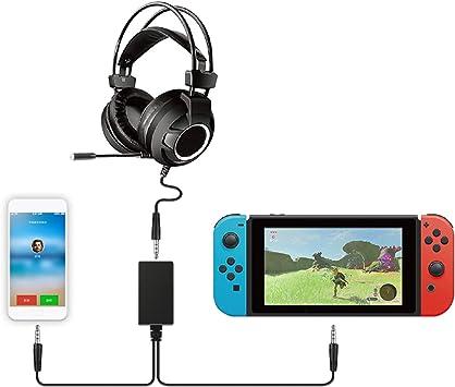 FASTSNAIL - Adaptador de Audio para Nintendo Switch Voice Chat ...