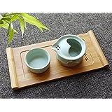 B&S FEEL Small Bamboo Tea Tray