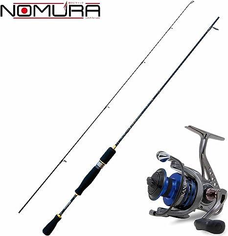 Kit Spinning Nomura caña Akira 160 cm + Carrete Kanji 1000: Amazon ...