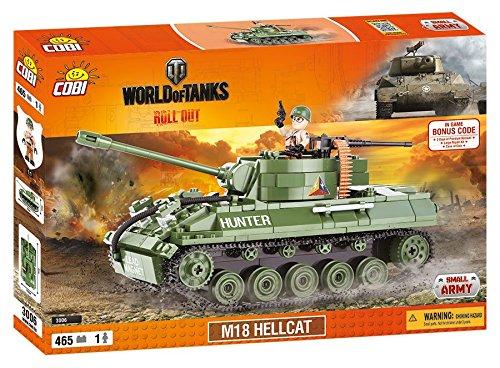 COBI WORLD OF TANKS - 3006 - M18 HELLCAT