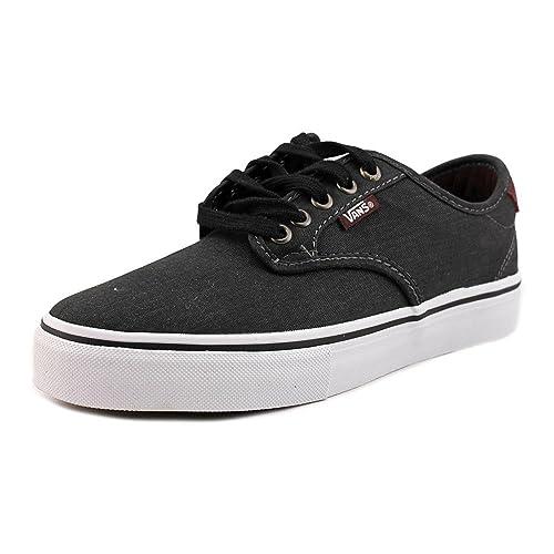 Vans Chima Ferguson Pro (Tooled Leather Black) Men's Skate Shoes
