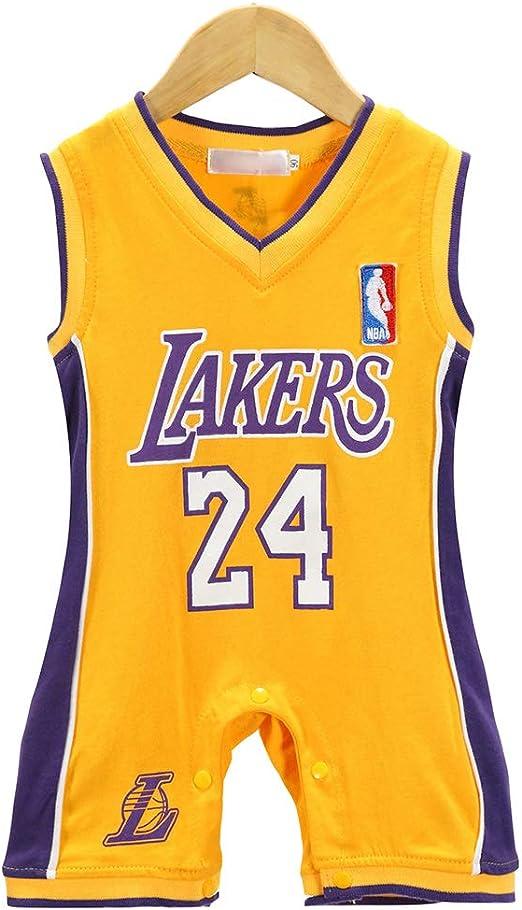 AIALTS Bebé Lakers 24 Camiseta De Baloncesto Bryant, Infantil ...