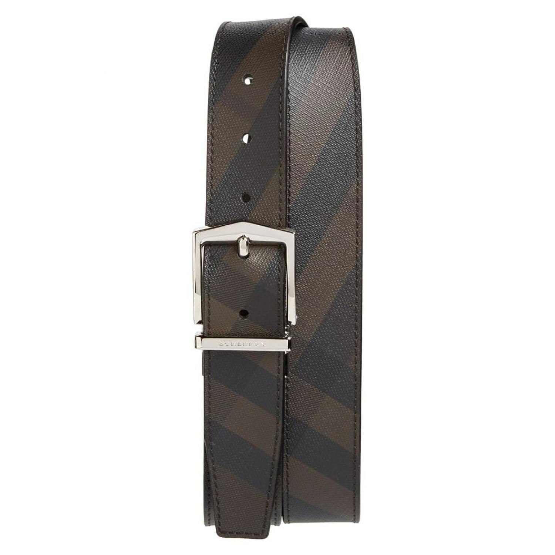 (バーバリー) BURBERRY メンズ ベルト 'Joel' Check Pattern Belt [並行輸入品] B078JNGBXR 110