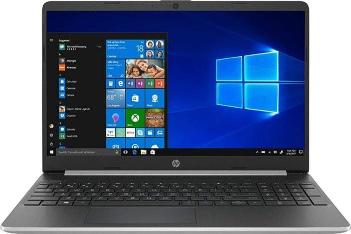 HP 15.6 Inch Touch Screen Laptop 256GB SSD ( 8th Gen i5-8265U, 12GB RAM, UHD 620 Graphics) Natural Silver