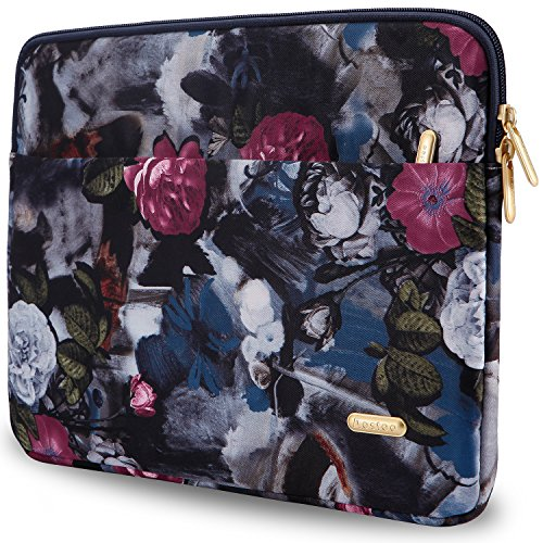 Aestee 13-13.3 Canvas Fabric Water-resistant Laptops Sleeve