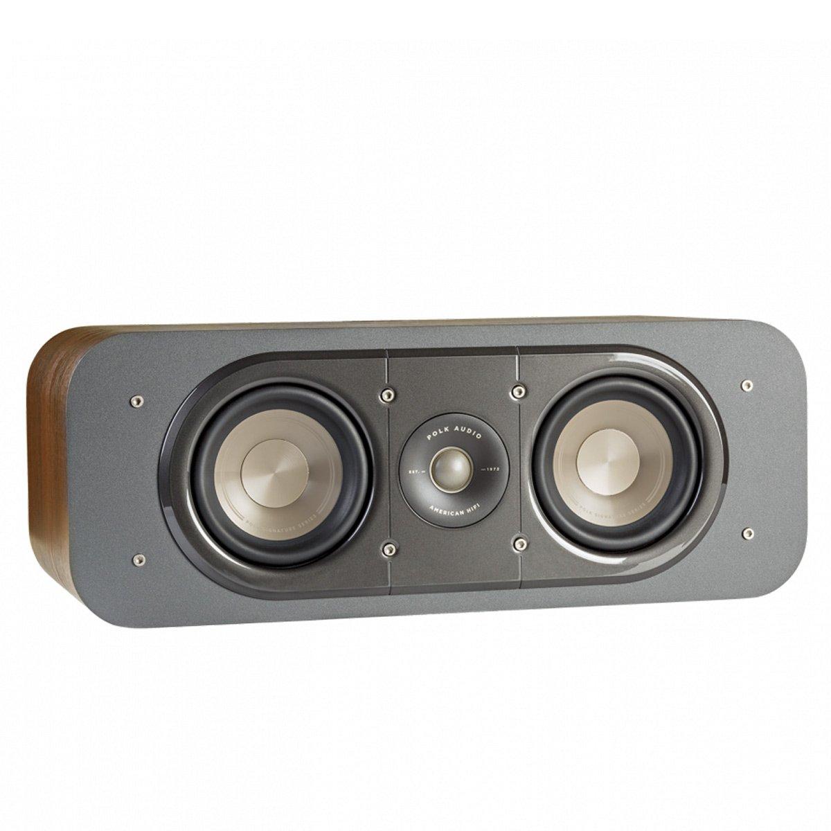 Polk Audio Signature Series S30 American Hi-Fi Home Theater Center Speaker (Classic Brown Walnut) by Polk Audio