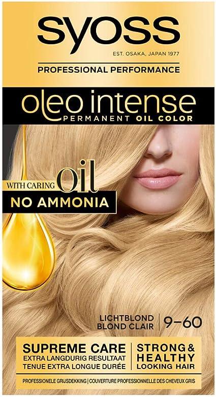 Syoss Color Oleo Intense 9-60 - Tinte para el pelo, color ...