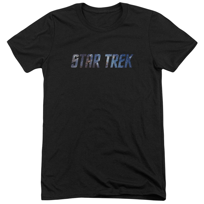 Star Trek Men's Space Logo Tri-Blend T-Shirt